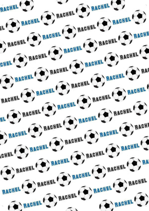 Soccer Personalized Tissue Paper - Potter's Printing