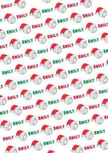 Volleyball Personalized Christmas Tissue Paper - Potter's Printing