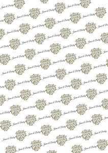 Wedding Happily Ever After Personalized Tissue Paper - Potter's Printing
