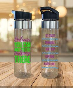 Water Bottle Believe You Can - Potter's Printing