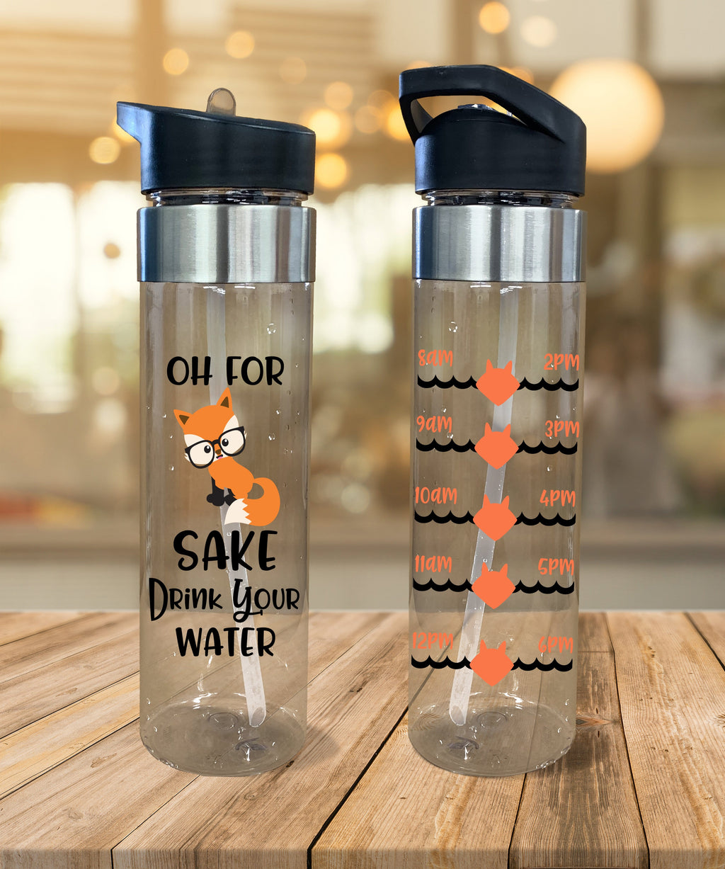 Water Bottle For Fox Sake - Potter's Printing