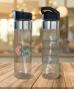 Water Bottle Live Free - Potter's Printing