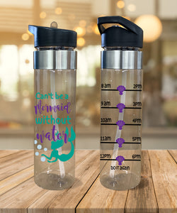 Water Bottle Can't Be a Mermaid - Potter's Printing