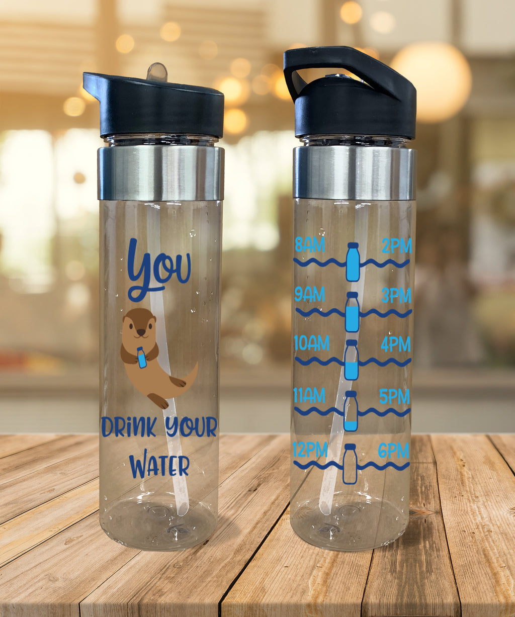 Water Bottle You Otter Drink Your Water - Potter's Printing