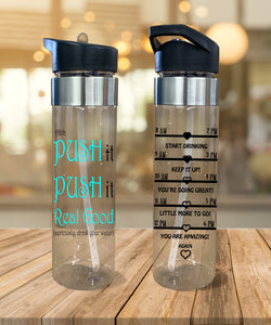 Water Bottle Push It Push It Real Good - Potter's Printing