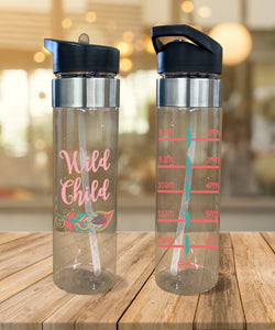 Water Bottle Wild Child - Potter's Printing