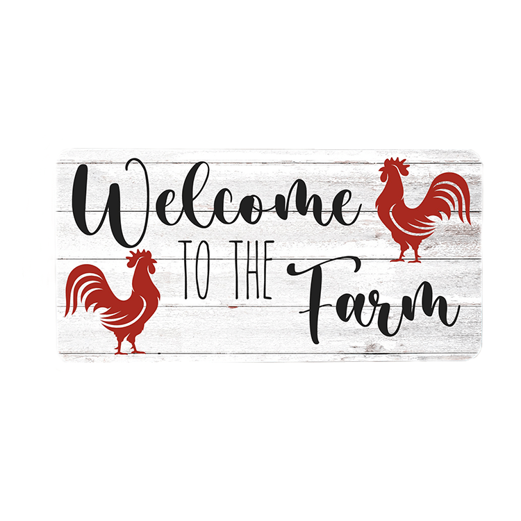 Welcome to the Farm  Wreath Sign
