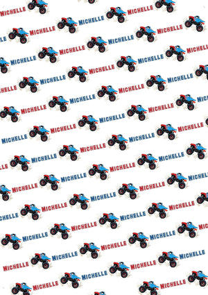Monster Truck Personalized Gift Wrap - Potter's Printing
