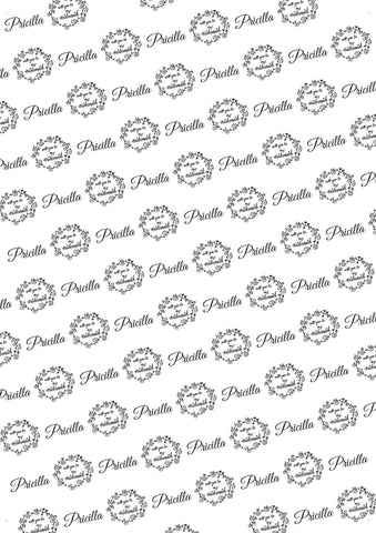 90th Birthday Personalized Birthday Gift Wrap