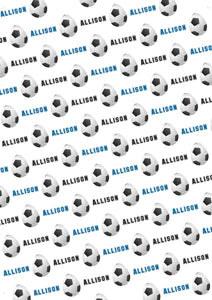 Easter Soccer Personalized Tissue Paper - Potter's Printing