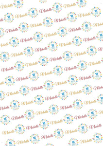 18th Birthday Personalized Birthday Gift Wrap - Potter's Printing