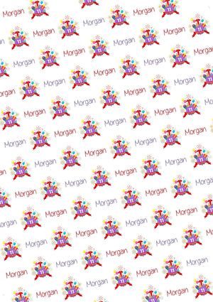 11th Birthday Personalized Birthday Tissue Paper - Potter's Printing