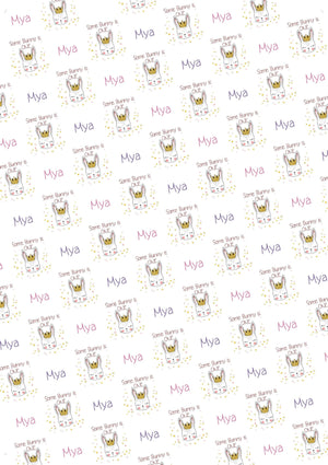 Some Bunny is One Personalized Birthday Tissue Paper - Potter's Printing