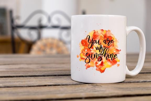 You Are My Sunshine Coffee Mug - Potter's Printing