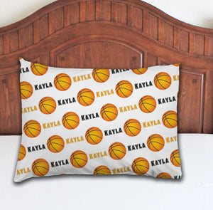 Basketball Personalized Pillowcase - Potter's Printing