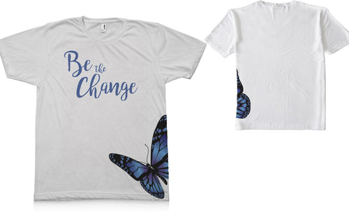 Be The Change_Short Sleeve TEE Shirt - Potter's Printing