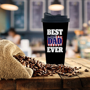 Best Dad Coffee Tumbler - Potter's Printing