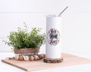 Best Mom Stainless Steel Tumbler - Potter's Printing