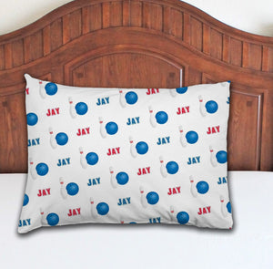 Bowling Personalized Pillowcase - Potter's Printing