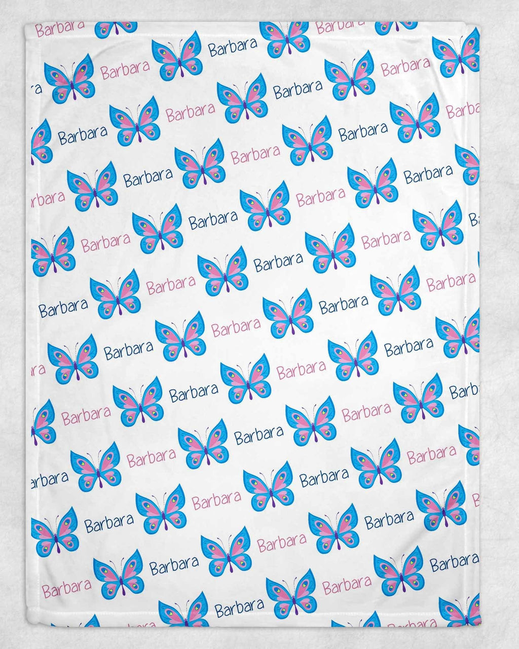 Butterfly Personalized Blanket - Potter's Printing