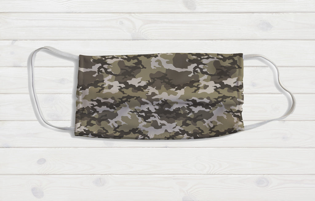 Camo Face Mask - Potter's Printing