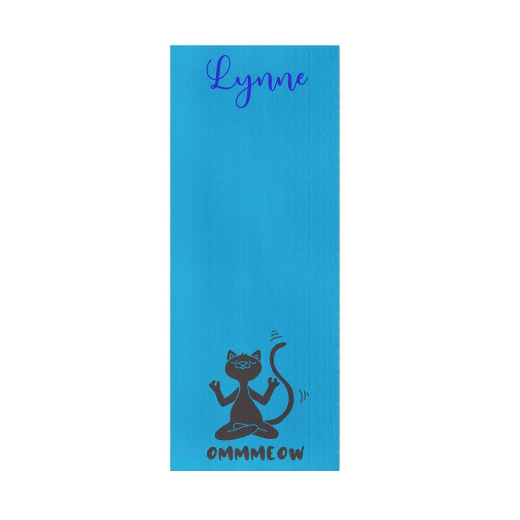 Cat Personalized Yoga Mat - Potter's Printing