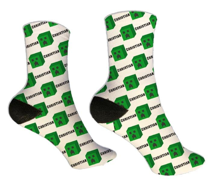 Creep Personalized Socks - Potter's Printing