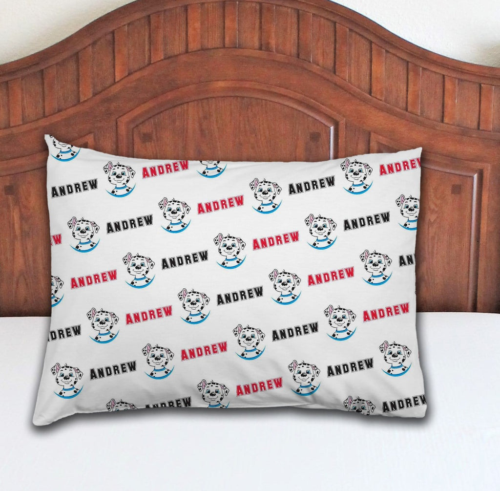 Dalmatian Personalized Pillowcase - Potter's Printing