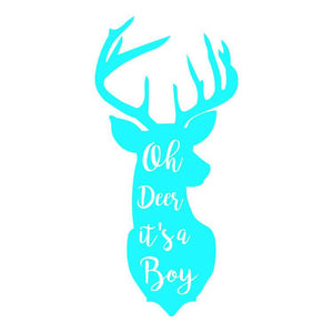 Deer Boy Personalized Tissue Paper - Potter's Printing