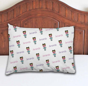 Doll Personalized Pillowcase - Potter's Printing