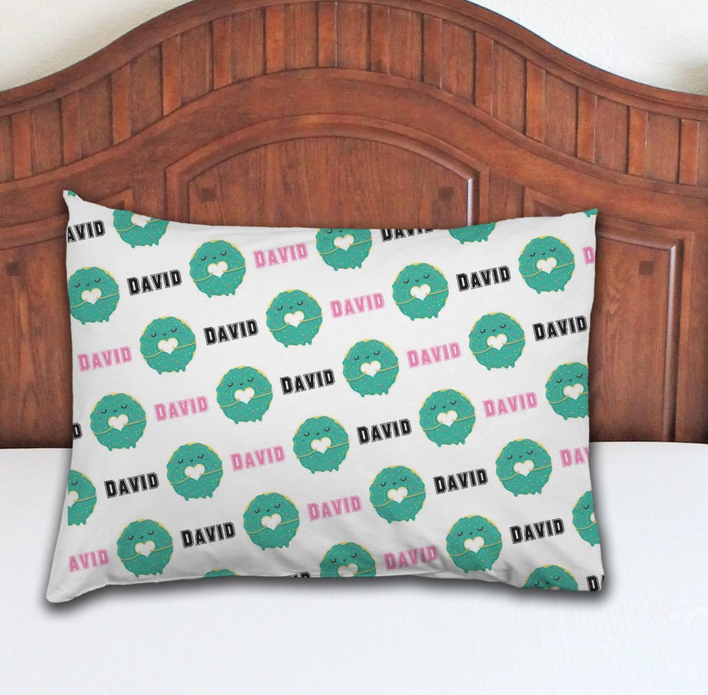 Donut Personalized Pillowcase - Potter's Printing