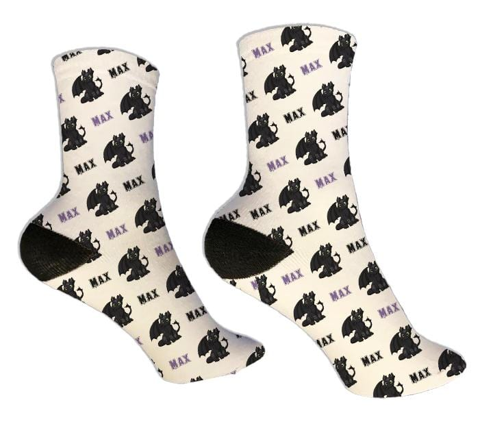 Dragon Personalized Socks - Potter's Printing