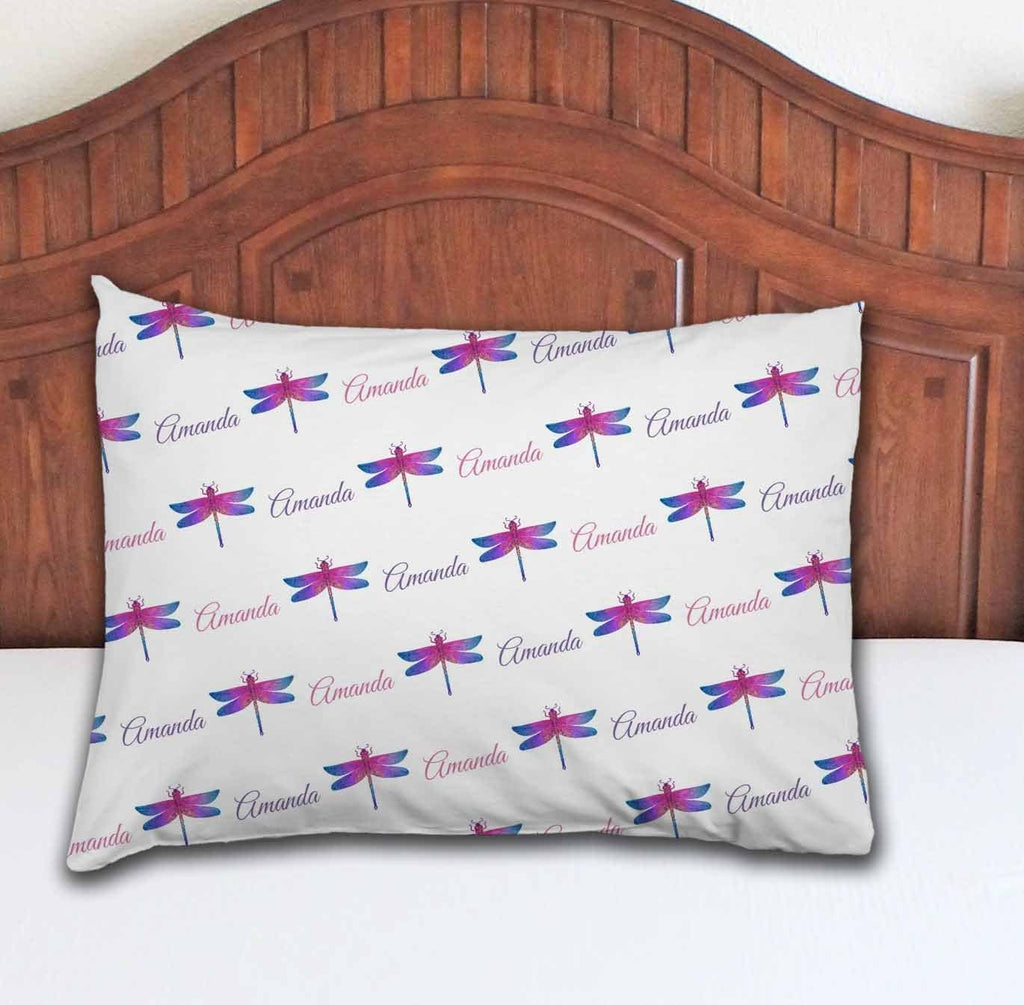 Dragonfly Personalized Pillowcase - Potter's Printing