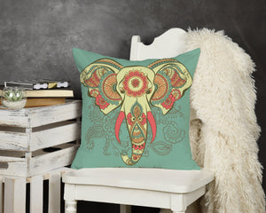 Elephant Throw Pillow - Potter's Printing