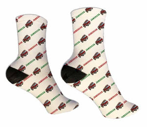 Firetruck Personalized Socks - Potter's Printing