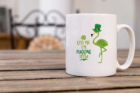 Flocking Irish Coffee Mug - Potter's Printing