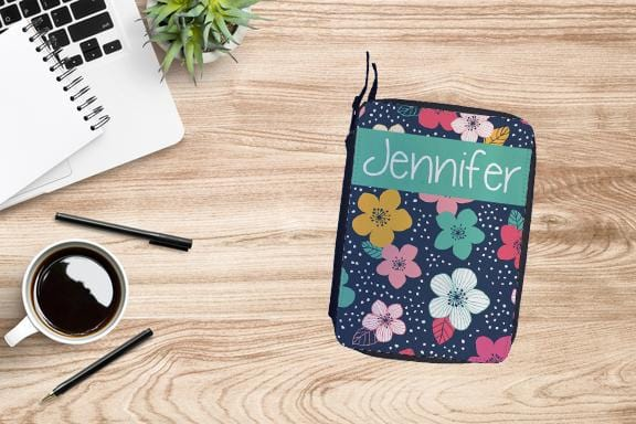 Personalized Floral Drawing Set