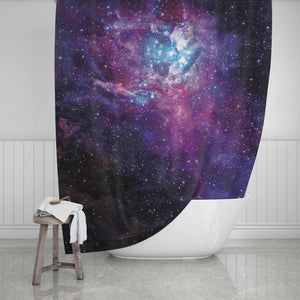 Galaxy Shower Curtain - Potter's Printing