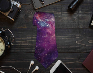 Galaxy Neck Tie - Potter's Printing