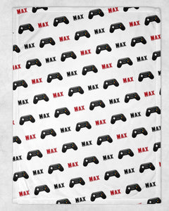 Game Controller Personalized Blanket