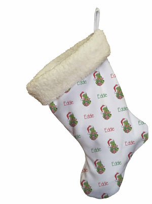 Gator Christmas Stocking - Potter's Printing