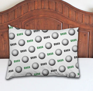 Golf Personalized Pillowcase - Potter's Printing