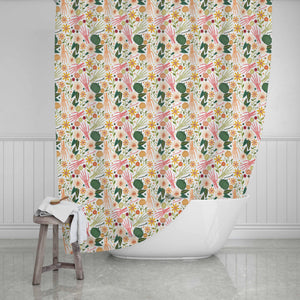 Halloween Shower Curtain - Potter's Printing