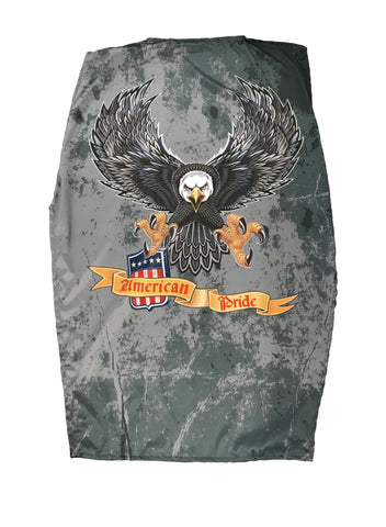 Born To Ride American Flag Cycle SunShade