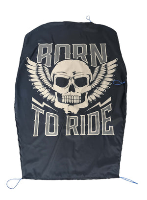 Born To Ride Skull Cycle SunShade - Potter's Printing