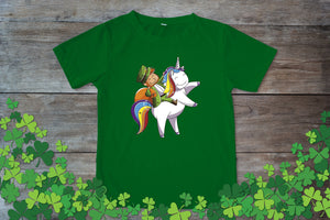 Graphic TEE St. Patrick's Day Unicorn - Potter's Printing