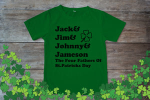 Graphic TEE St. Patrick's Day The Four Fathers - Potter's Printing