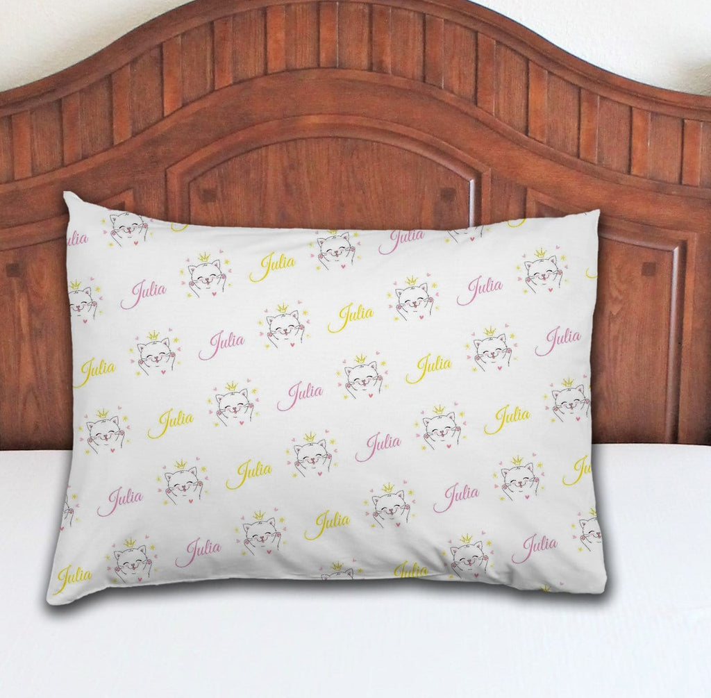 Kitten Personalized Pillowcase - Potter's Printing