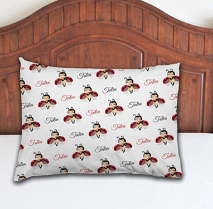 Ladybug Personalized Pillowcase - Potter's Printing