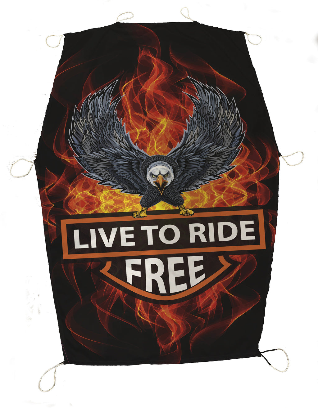 Live to Ride Cycle SunShade - Potter's Printing